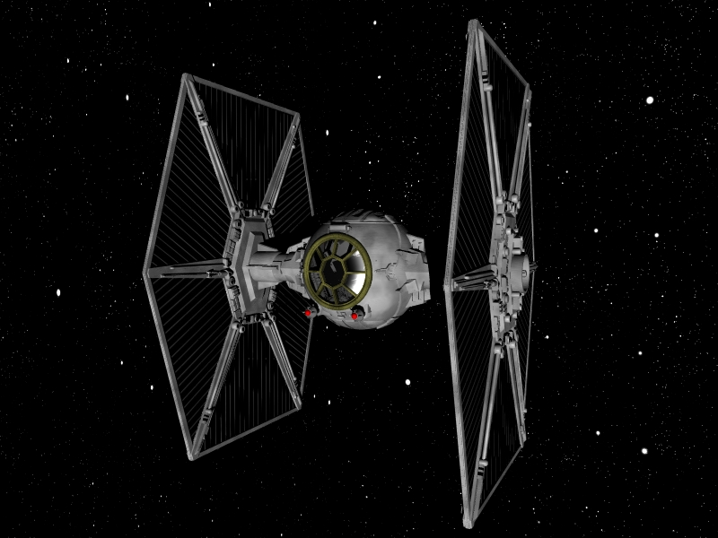 Tie fighter hardcore